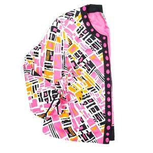 SIlkLand Bright Printed Beaded Jacket